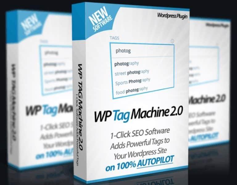 WP Tag Machine V2.0 + OTOs