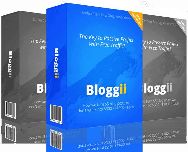 Bloggii + OTOs