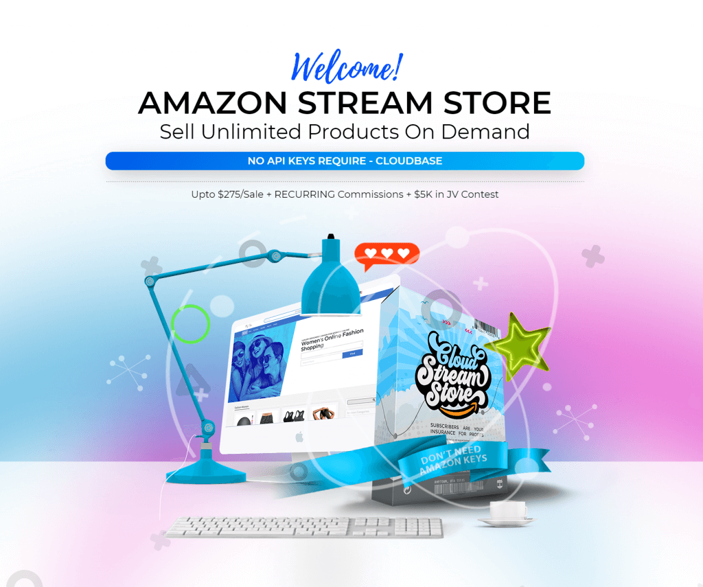 Stream Store Clouds PRO + OTO