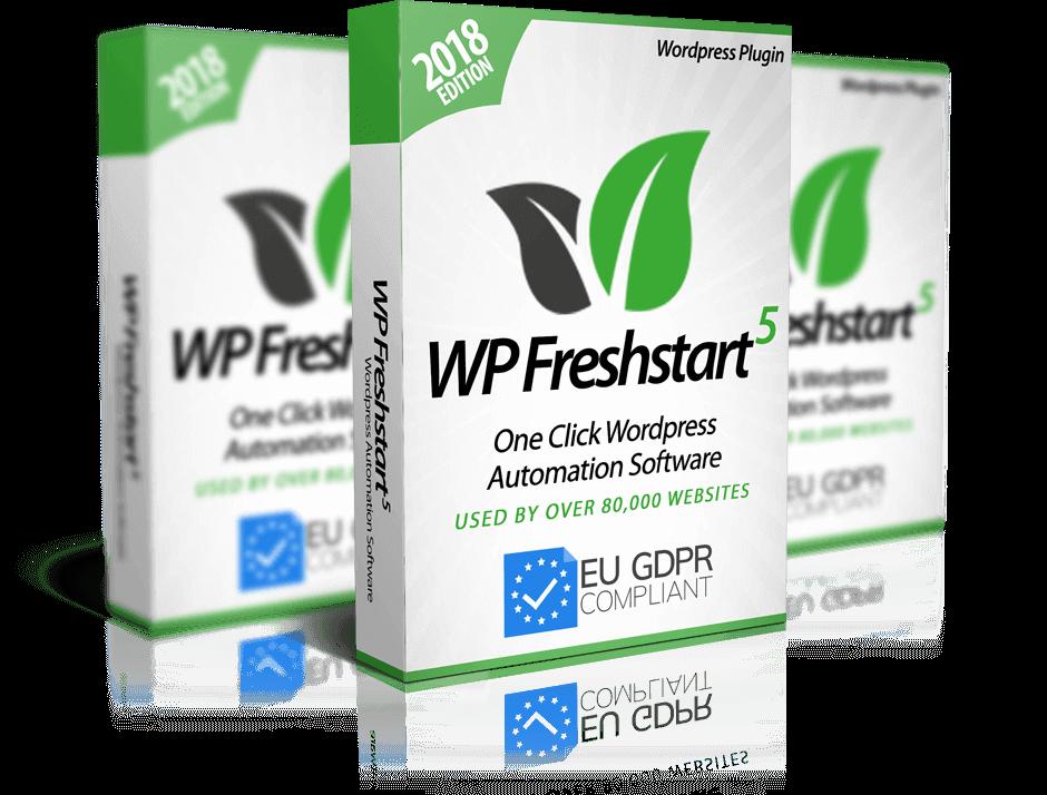 WP Freshstart 5 [PRO Version]