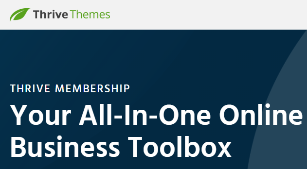 Thrive Themes + All Thrive Tools Only $97/year