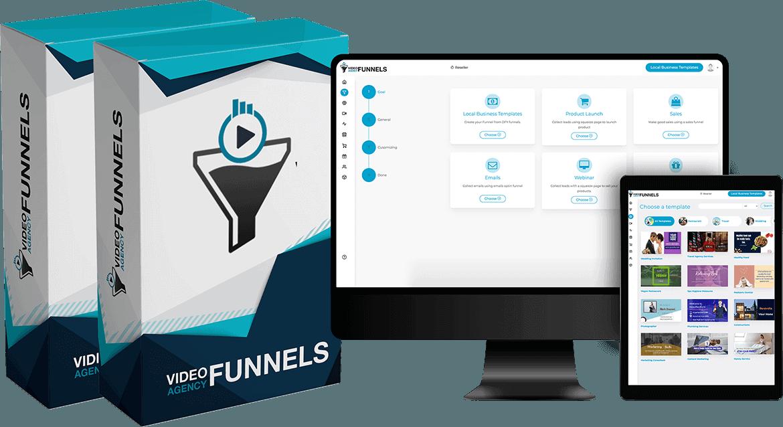Video Agency Funnels + OTO's